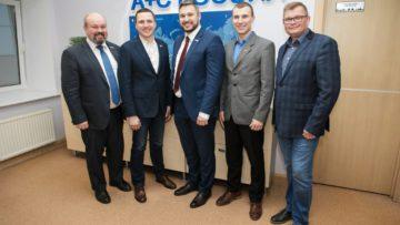 Рабочая встреча с руководством компании «А+С Транспроект»