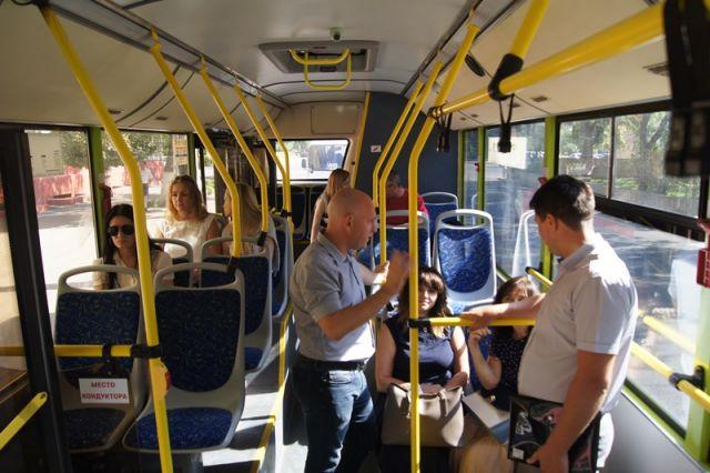 В волгоградском общественном транспорте апробируют «тревожные кнопки»