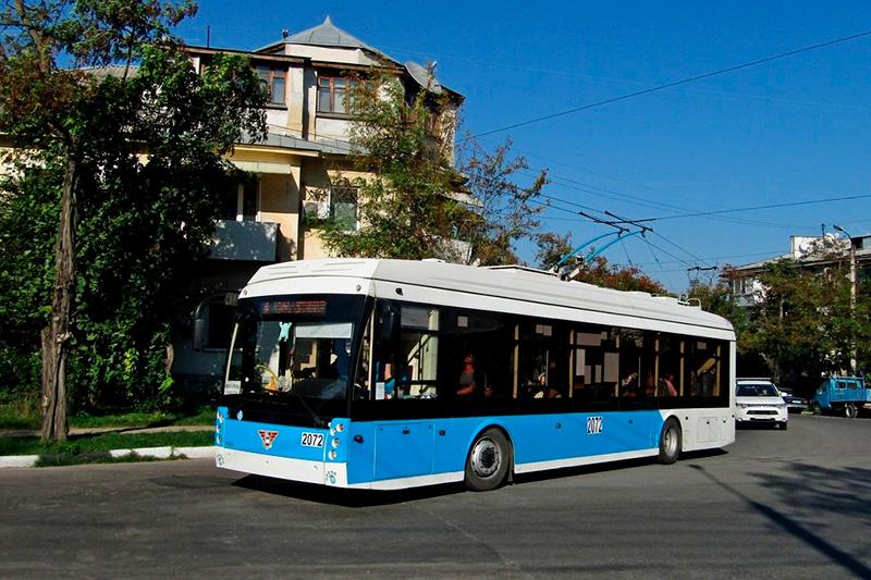Росгвардия взяла общественный транспорт Севастополя под охрану