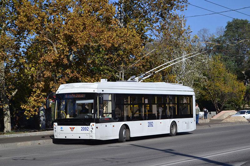 Пьяный дебош в севастопольском троллейбусе пресекла Росгвардия (видео)