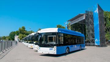 Общественный транспорт под охраной Росгвардии