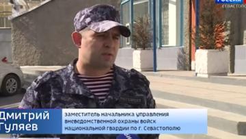 «Тревожные кнопки» в транспорте Севастополя помогли задержать дебоширов (видео)