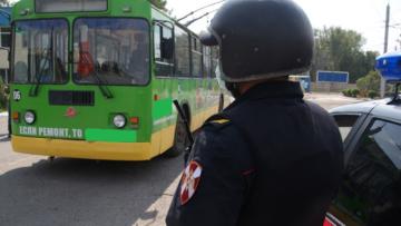 Росгвардия обеспечит безопасность пассажиров и работников общественного электротранспорта в Абакане (видео)