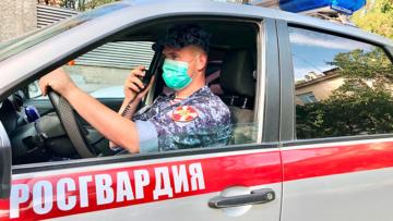 Росгвардейцы пресекли правонарушение в общественном транспорте в Севастополе