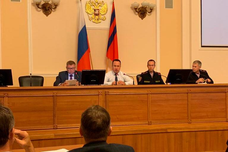 Александр Питиримов принял участие в совещании в Комитете транспорта и дорожного хозяйства Волгоградской области
