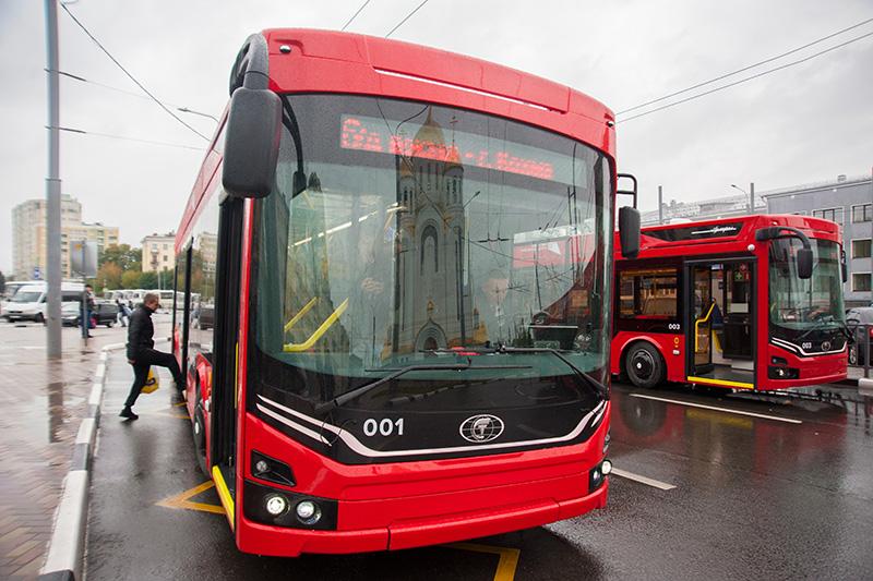 В Иванове на городские маршруты вышли новые троллейбусы, поступившие в регион по Нацпроекту
