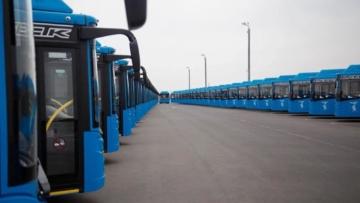 Автопарк Белгорода пополнился 58 новыми автобусами, поступившими по нацпроекту