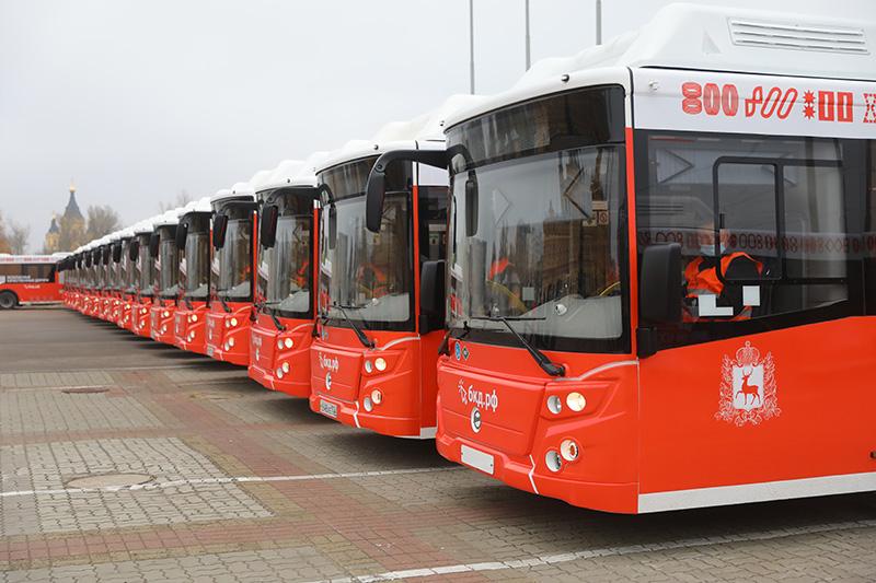Автопарк Нижнего Новгорода получил 51 новый автобус