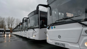 В автопарк Тольятти поступили 50 новых автобусов