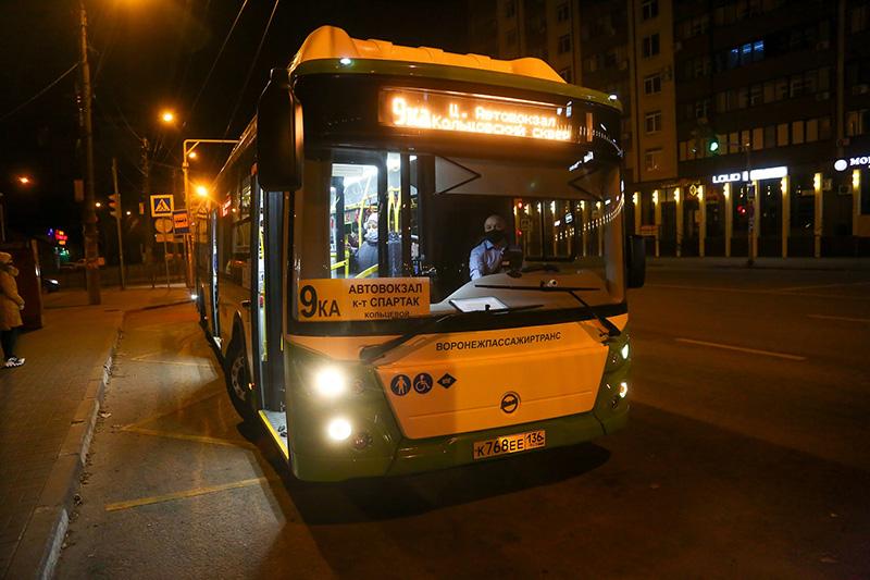 Новые автобусы, поступившие в Воронеж по нацпроекту, вышли на городские магистральные маршруты