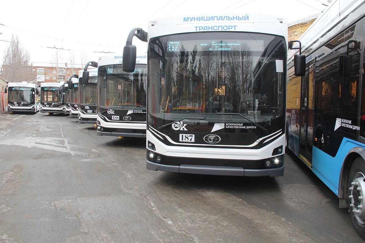 В Омск поступило 29 новых троллейбусов