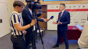 ГТРК Волгоград-ТРВ. Фрагмент интервью Александра Васильева (видео)