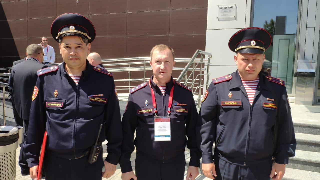 Росгвардия. Волгоградская Росгвардия продемонстрировала новейшие технологии во Всероссийском форуме «Транспортная Среда»